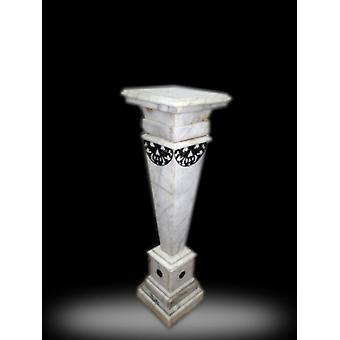 baroque flower stand marble rococo antique style MkMa0038