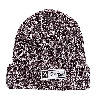 New era winter cap Beanie - TWIST YARN NY Yankees maroon