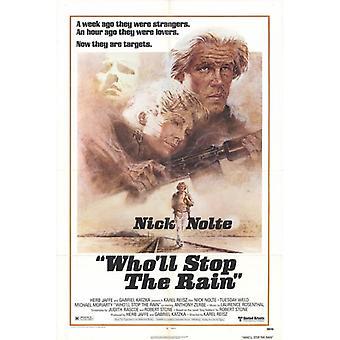 Wholl Stop regn film plakat Print (27 x 40)