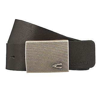 Camel active belts men's belts leather belt black 1017