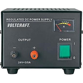 Bench PSU (fixed voltage) VOLTCRAFT FSP-1243 24 Vdc 3 A 72 W