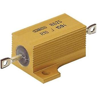 High power resistor 0.12 Ω Axial lead 25 W ATE Electronics RB25/ 1 pc(s)