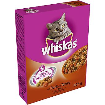 Whiskas Dry With Duck & Turkey 825g (Pack of 5)