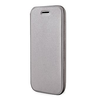 Celly's Folio Case Wallet Case for iPhone 6 with Integrated Stand function - Sil