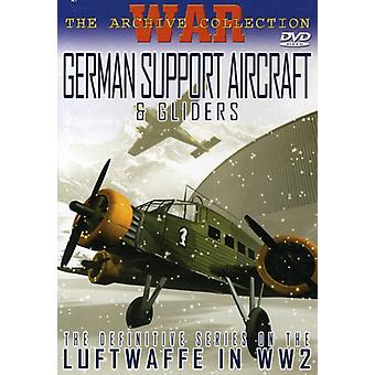 German Support Aircraft & Gliders [DVD] USA import