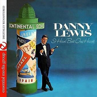 Danny Lewis - I Have But One Heart [CD] USA import