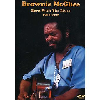 Brownie McGhee - født med Blues 1966-92 [DVD] USA importen