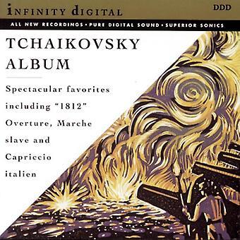 PI Tchaikovsky - Tchaikovsky: Romeo & Juliet Fantasy Overture; Slavisk mars; Capriccio Italien; 1812 overture [DVD] USA importere