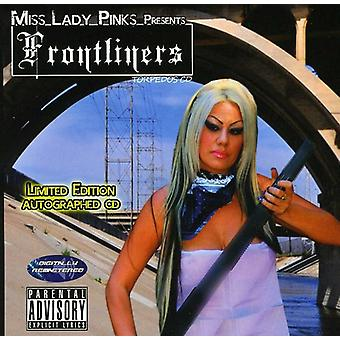 Ms. Lady Pinks præsenterer - Frontliners [CD] USA import