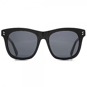 Stella McCartney Essentials Oversize Square Sunglasses In Black