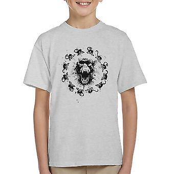 Abe feber 12 Monkeys børne T-Shirt