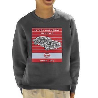 Haynes Workshop handmatige 0242 Jaguar XJ6 Stripe Kid's Sweatshirt