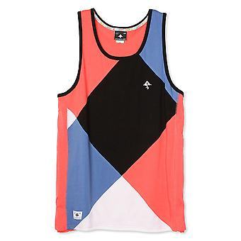Lrg Argyle Dimensions Tank Top Dark Salmon