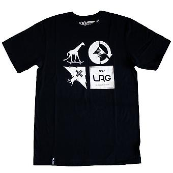 Lrg RC Logo Mash Up T-shirt Black