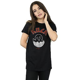 Emoji Women's Rock Chick Boyfriend Fit T-Shirt