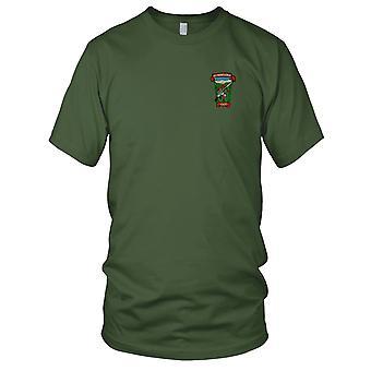 MACV-SOG CCC RT Nebraska Recon Team - US Special Forces Vietnam War Embroidered Patch - Mens T Shirt
