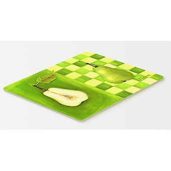 Carolines Treasures  WHW0121CMT Pear by Ute Nuhn Kitchen or Bath Mat 20x30