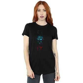 It Women's Pennywise Sewer Boyfriend Fit T-Shirt