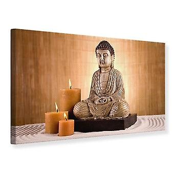Canvas tulosta Buddha meditaatio