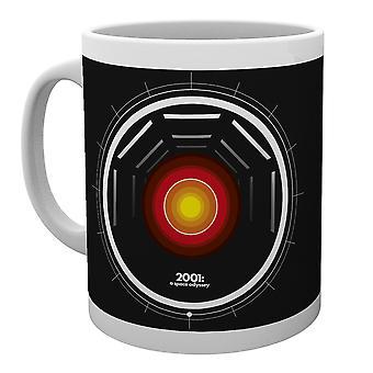 2001 una tazza di Hal icona Odyssey dello spazio