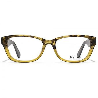 Miss KG Square Oval Glasses In Tortoiseshell Gradient