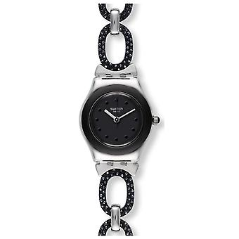 Swatch BLACK GLITTER Ladies Watch YSS293G