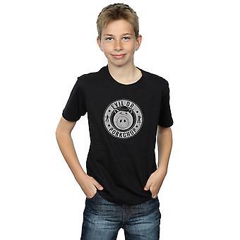 Disney Boys Toy Story Evil Dr Pork Chop Logo T-Shirt