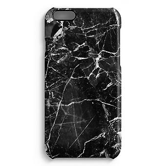 iPhone 6 Plus Full Print Case (Glossy) - Black Marble 2