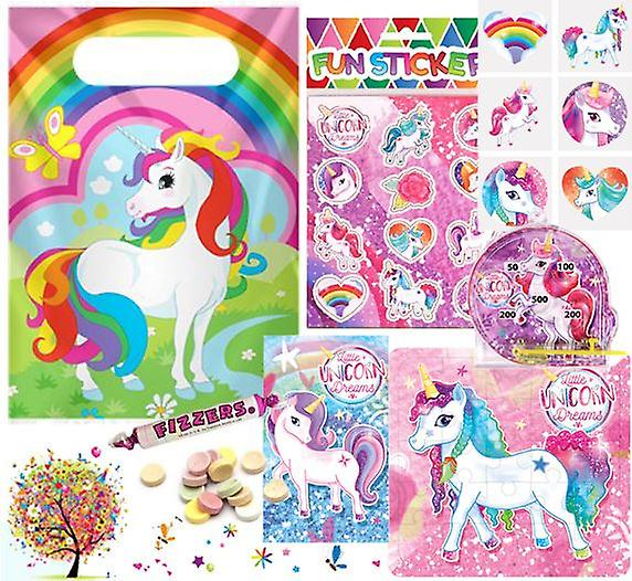 Pre Filled Ready Made Party Bag - Unisex - Unicorn (Single)