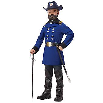 Union General Ulysses S. Grant Army Colonial Civil War General Boys Costume