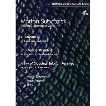 M. Subotnick - elektroniske værker Vol. 3 [DVD] USA import