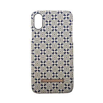 GEAR Mobilskal Onsala Collection Blue Marocco iPhoneX