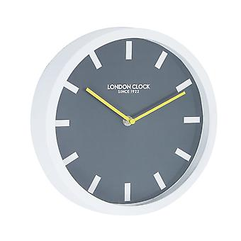 London Pop Pop White Wall Clock