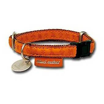 Nayeco MacLeather brown dog collar L (Dogs , Collars, Leads and Harnesses , Collars)
