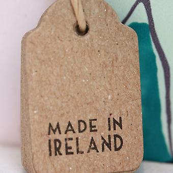 East of India Vintage Style Made In Ireland Brown Mini Tags x 10