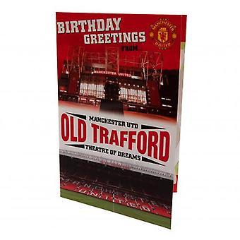Manchester United Pop Up Birthday Card