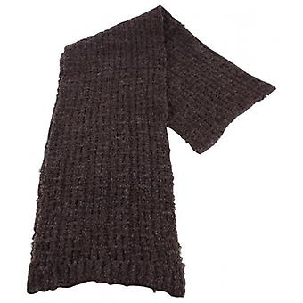 Bassin and Brown Gibson Plain Texture Scarf - Brown
