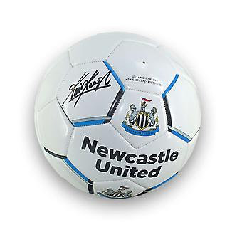 Kevin Keegan Signed Newcastle United Football