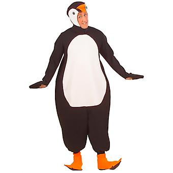 Pingvin kostume (buksedragt medaljon W/maske poter)
