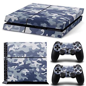 White Camo-Playstation 4 skin