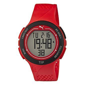 PUMA reloj pulsera reloj unisex rojo toque PU911211002 Digital negro