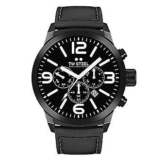 TW stål mænds ur Chrono Marc Coblen Edition TWMC42 wrist watch læder band