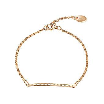 ESPRIT ladies bracelet Bangle Rosé JW50217 cubic zirconia ESBR91786C160