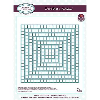 Creative Expressions Craft Dies By Sue Wilson-Squared Squares
