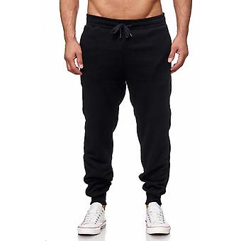 Tazzio fashion men's sweatpants basic black