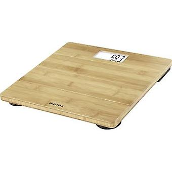 Digital bathroom scales Soehnle Bamboo Weight range=180 kg Bambo