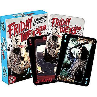 Vendredi 13 film jeu de cartes à jouer 52319
