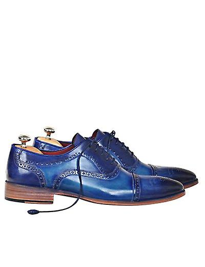 Handcrafted Premium Leather Leather Premium Ken Oxford Shoe 1d1414