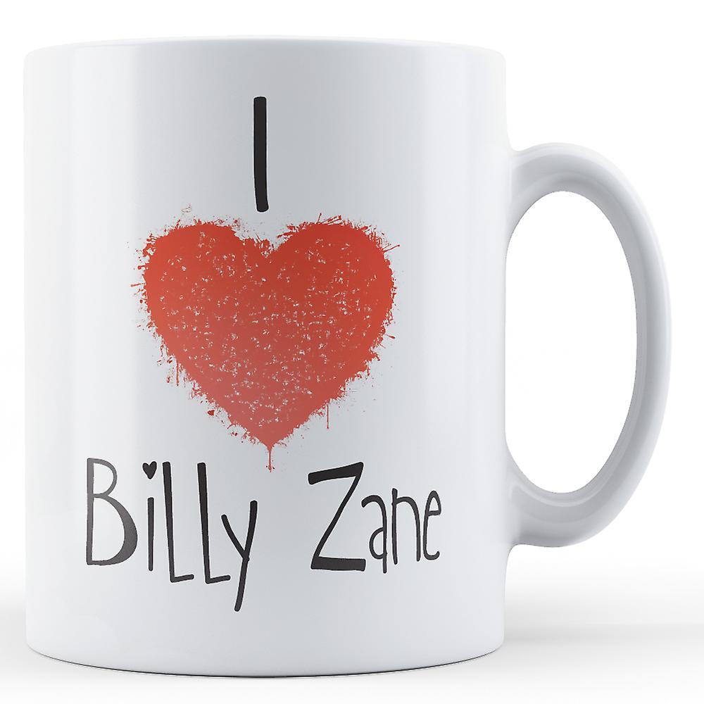Écriture J'aime Mug Décoratif Zane Imprimé Billy k8nw0XNOP