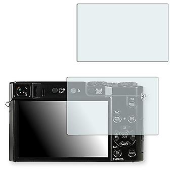 Panasonic Lumix DMC-TZ101 screen protector - Golebo crystal clear protection film